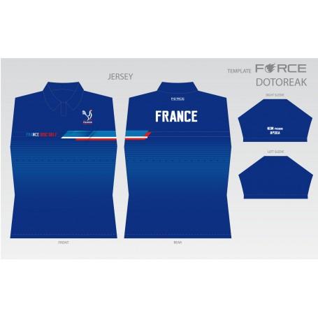 FRANCE DISC GOLF DARK/BLEU