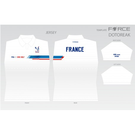 FRANCE DISC GOLF LIGHT/BLANC