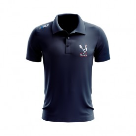 FRANCE DISC GOLF COTTON POLO