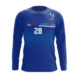 FRANCE ULTIMATE LONG SLEEVE DARK/BLEU
