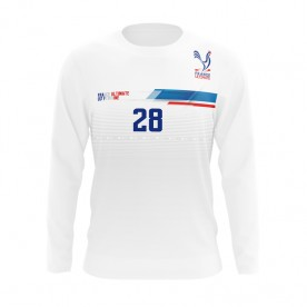 FRANCE ULTIMATE LONG SLEEVE LIGHT/BLANC